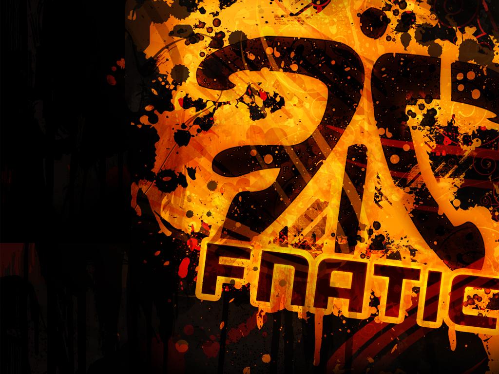 Spray logo: fnatic